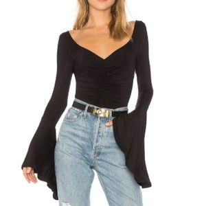 Free People We The Free Bell Sleeve Top